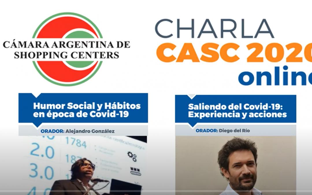 Webinar Cámara Argentina de Shopping Centers – Abril 2020, junto a Diego Del Río